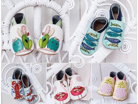 Nouvelle collection de chaussons souples cuir pour la rentrée des petits pieds.