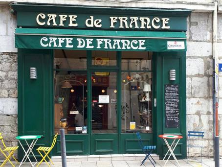 Saveurs , convivialité et l'amour des bonnes choses vous attendent au Café de France! Pensez à réser