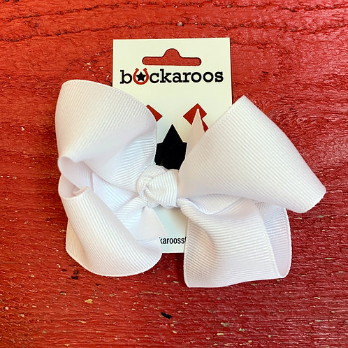Large Solid Grosgrain Bows
