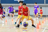Weekend Basketball training at Top Flight Bangkok