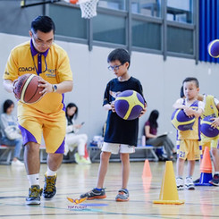Basketball Training Session with Top Flight coaches
