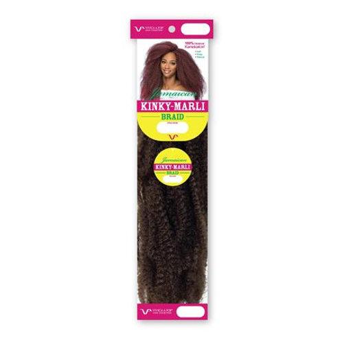 """Vivica Fox Kinky Jamaican Marley Braid 18"""""""