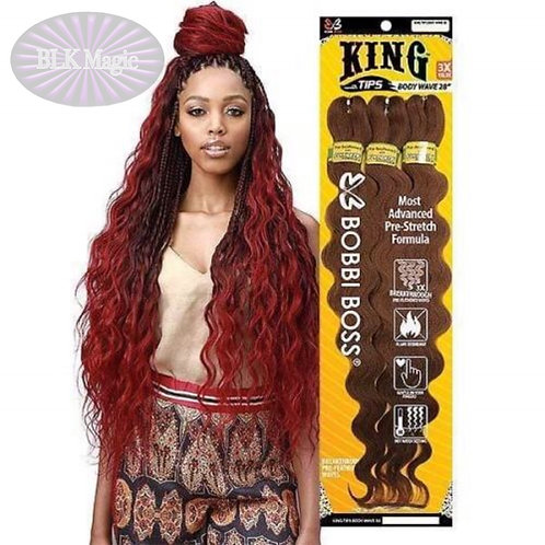 Bobbi Boss 3X King Tips Body Wave 28""