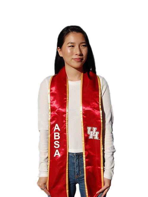 ABSA Red Graduation Stole