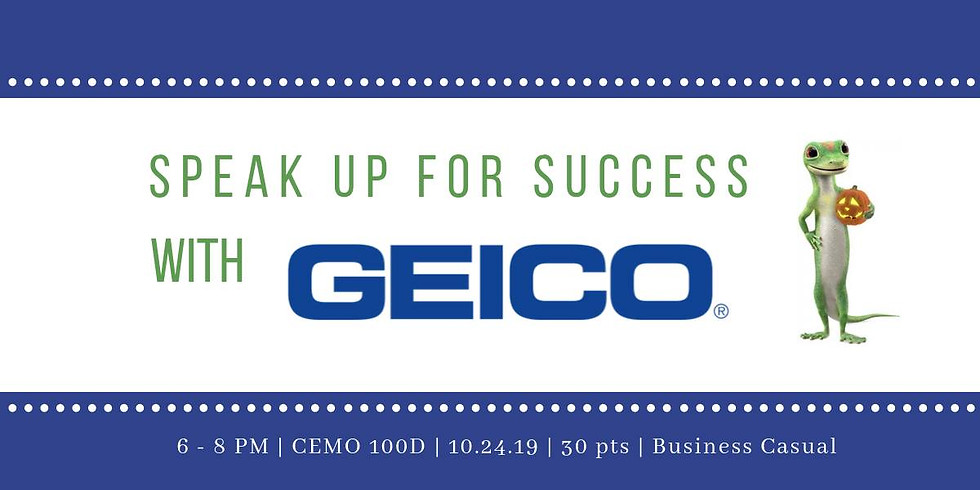 UH ABSA | Speak Up for Success with GEICO