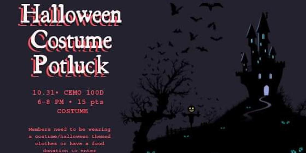UH ABSA   Halloween Costume Potluck