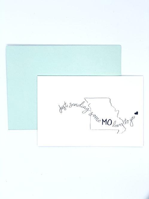 Greeting Card - MO Love