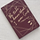 Thumbnail: Journal - Merlot + Gold