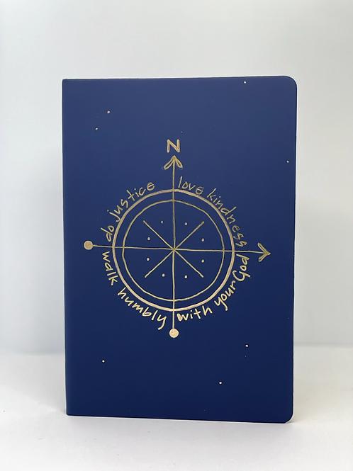 Journal - Navy + Gold