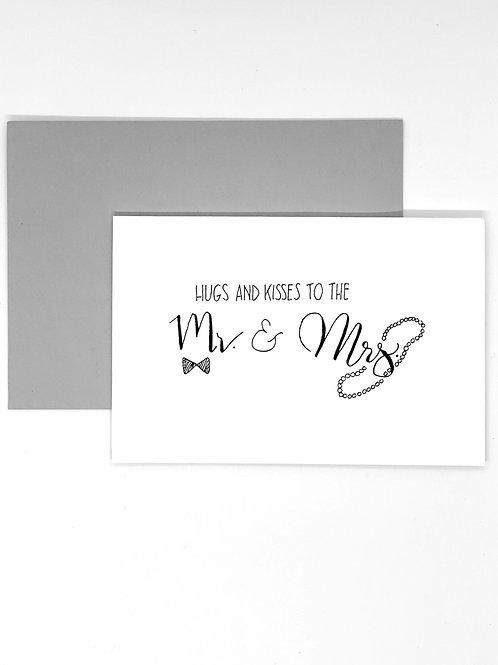 Greeting Card - Hugs & Kisses
