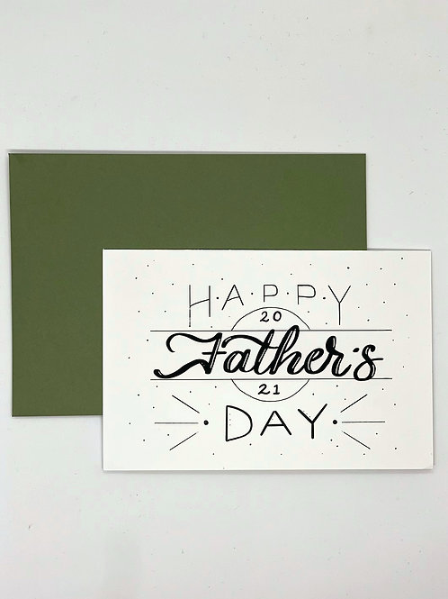 Greeting Card - Father's Day