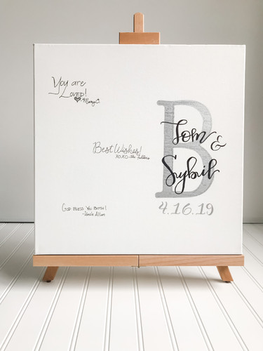 Guest Book Alternative and Easel.jpg