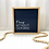 Thumbnail: Simple Sentence Sign - Pray