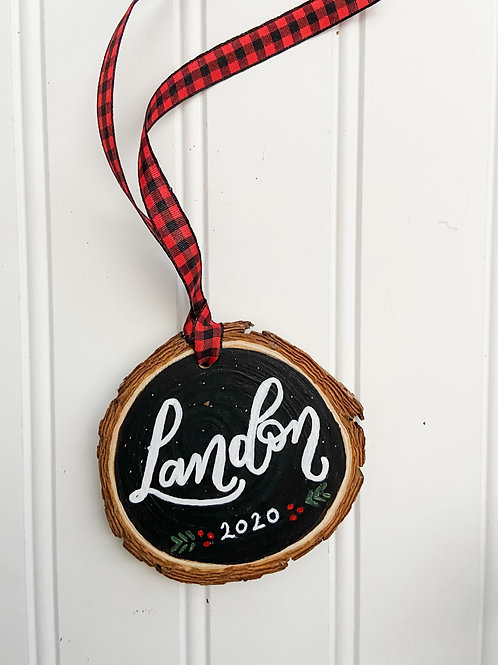 Personalized Ornament - Single Name