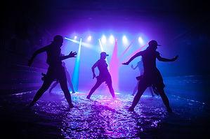 Fashion girls dancing on the water.jpg