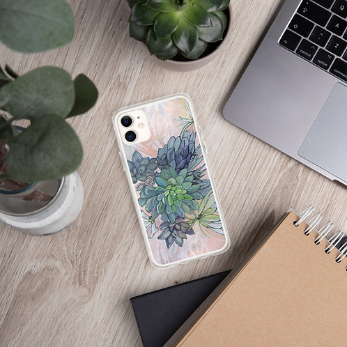 Hens & Chicks - iPhone Case