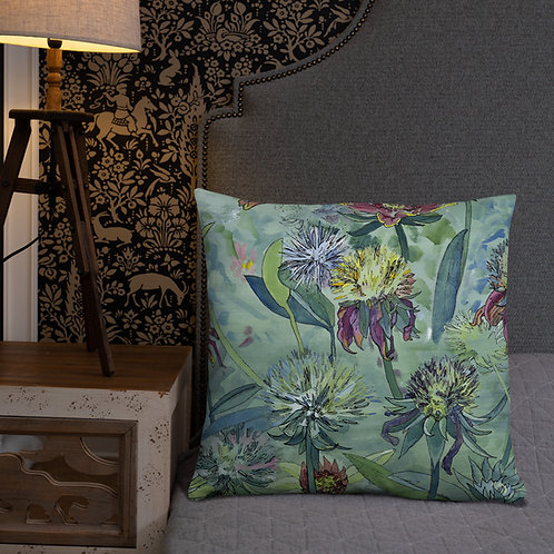 Field Flowers - Accent Pillow