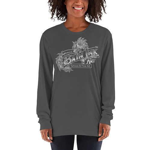Bain Ink Logo - Long sleeve t-shirt ( American Apparel)