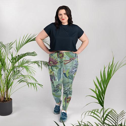 Field Flowers - Plus Size Leggings
