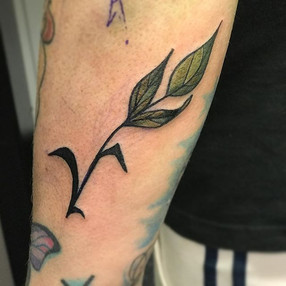 Loved making a vegan V as my last tattoo