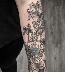 Fun forearm tattoo for Lexie.jpe