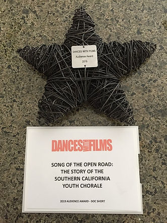 DANCES WITH FILMS Audience Award for Doc