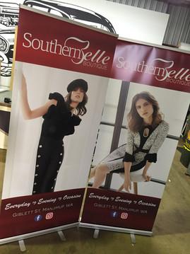 Southern Belle Boutique Pull-up Banners