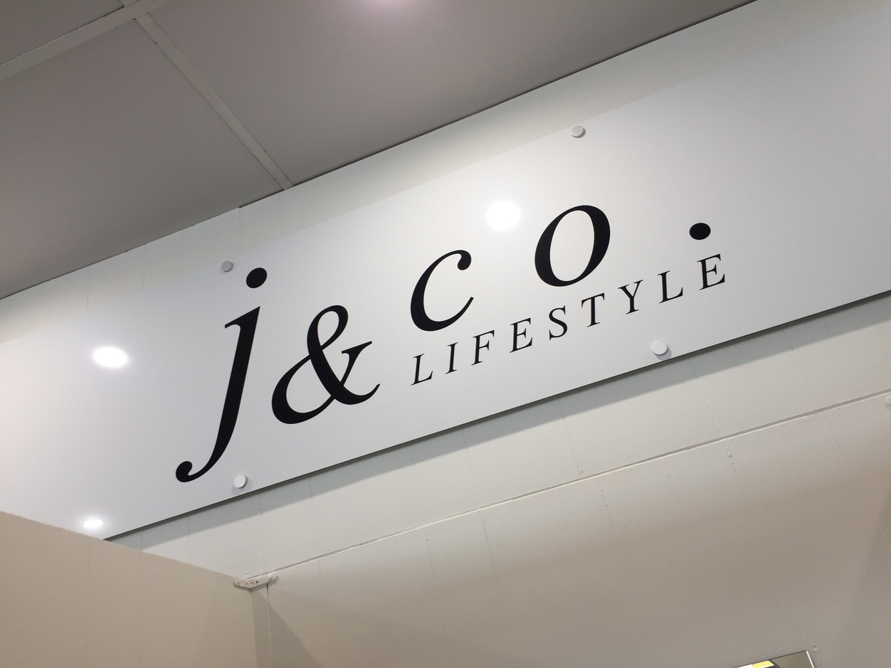 J & Co. Lifestyle Multi-mount sign