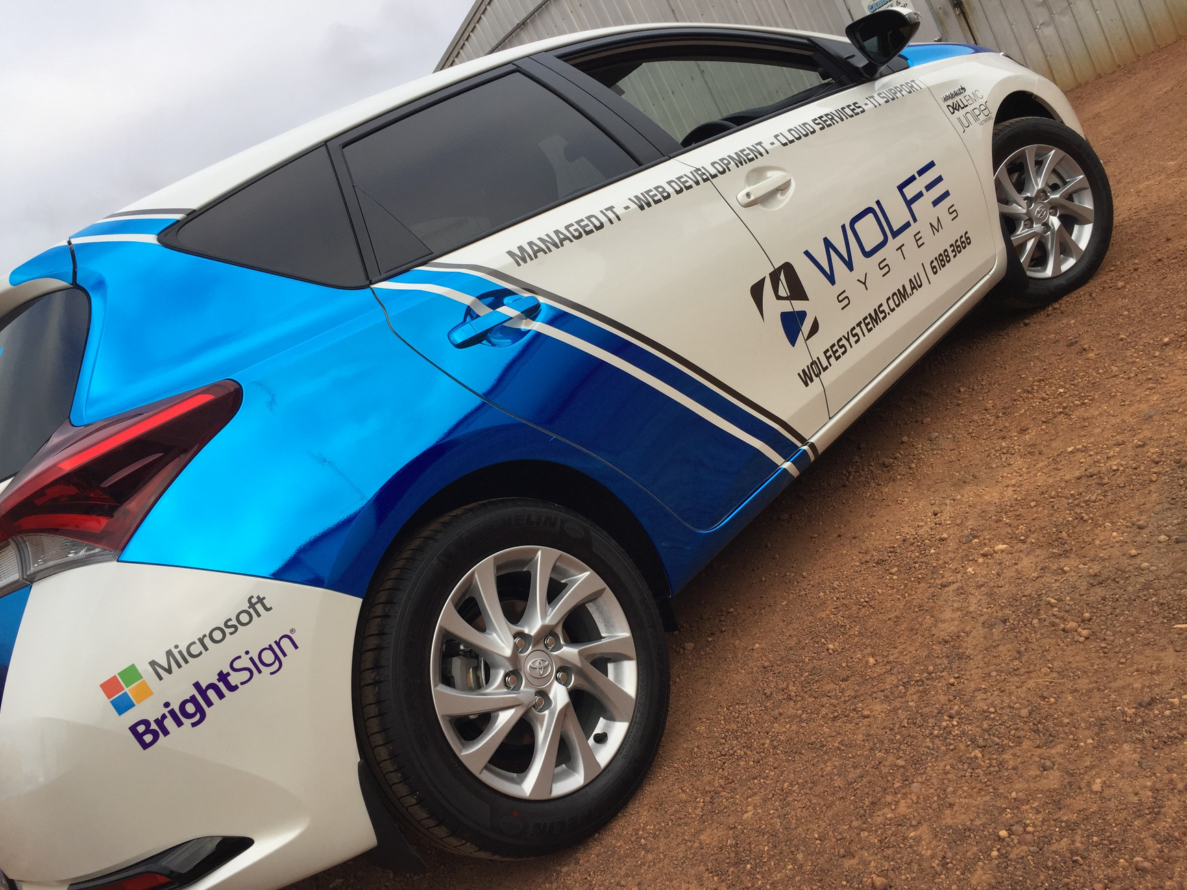 Wolfe Systems Vehicle Wrap