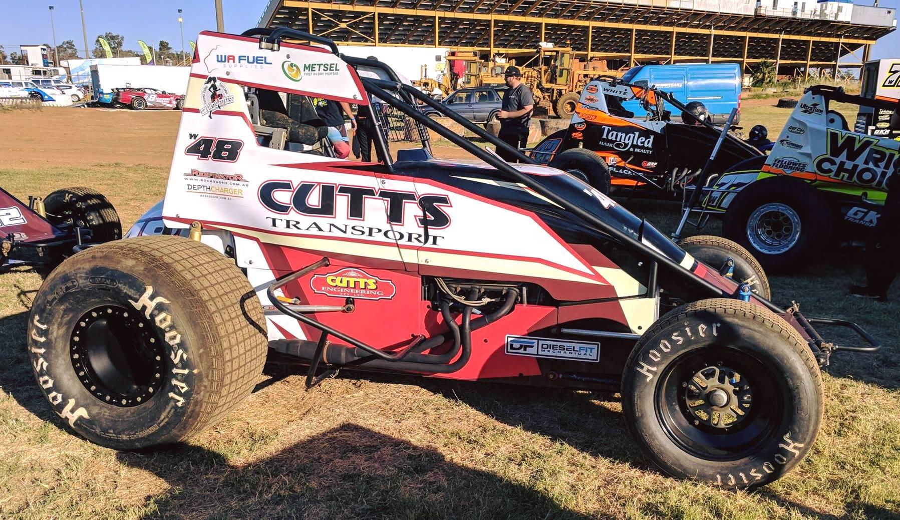 Cutts Speedway Car