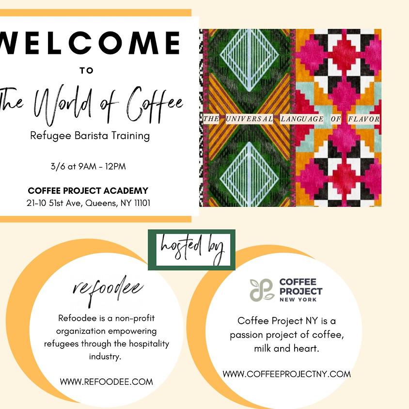 Refoodee x Coffee Project Barista Training