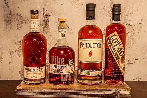 O'Canada Whisky Flight