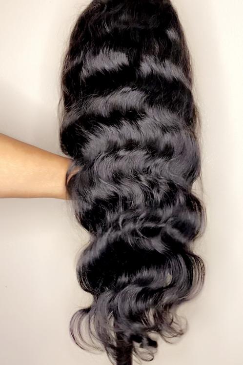 150% bodywave wig