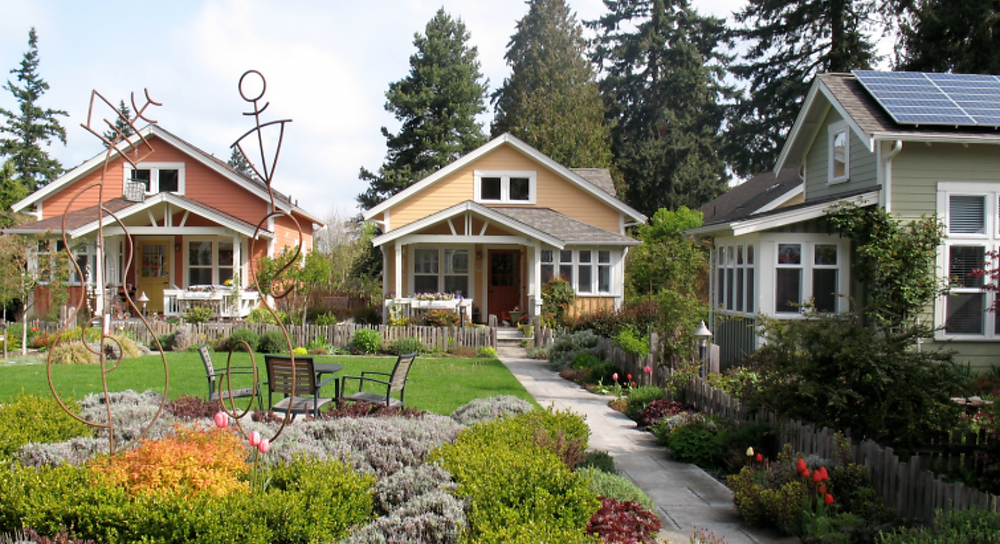 Different types of Missing Middle housing.