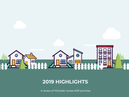 YEGarden Suites Year in Review