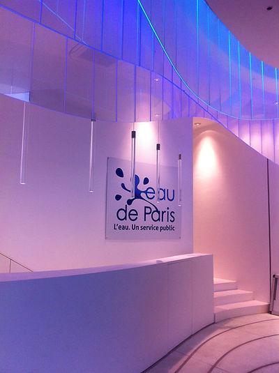 Aménagement du hall d'accueil - Eau de paris - RMJD Architectes