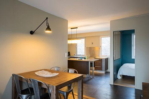 réhabilitation d'un appartement à paris - Rénovation complète - Paris - RMJD Architectes