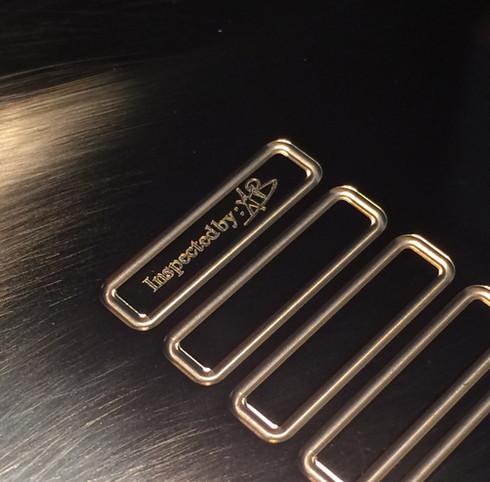 Quality control plaque
