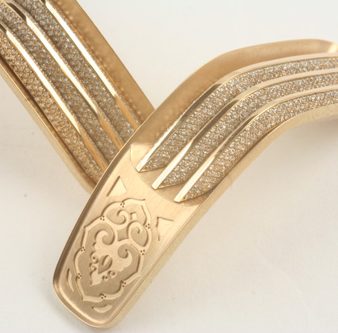 Apollo solid gold elements