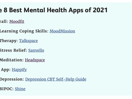 Moodfit Voted Best Overall Mental Health App of 2020 & 2021