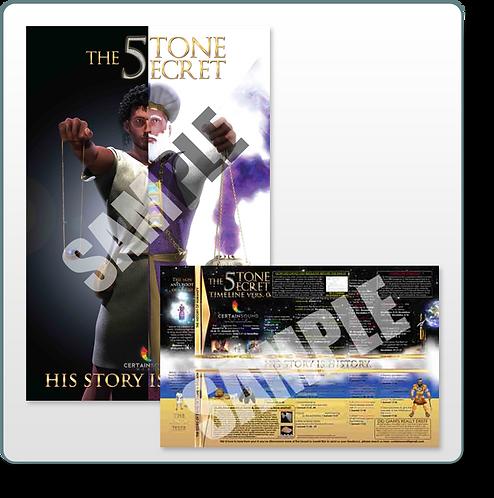 THE FIVE STONE SECRET Timeline/Poster