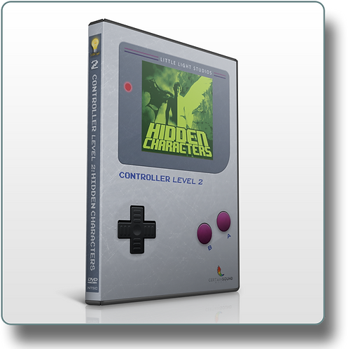 CONTROLLER 2: HIDDEN CHARACTERS DVD (1 Hour)