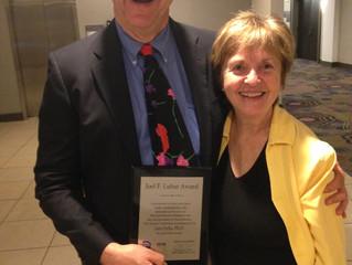 Len Ochs Receives the Joel F. Lubar Award in San Diego!