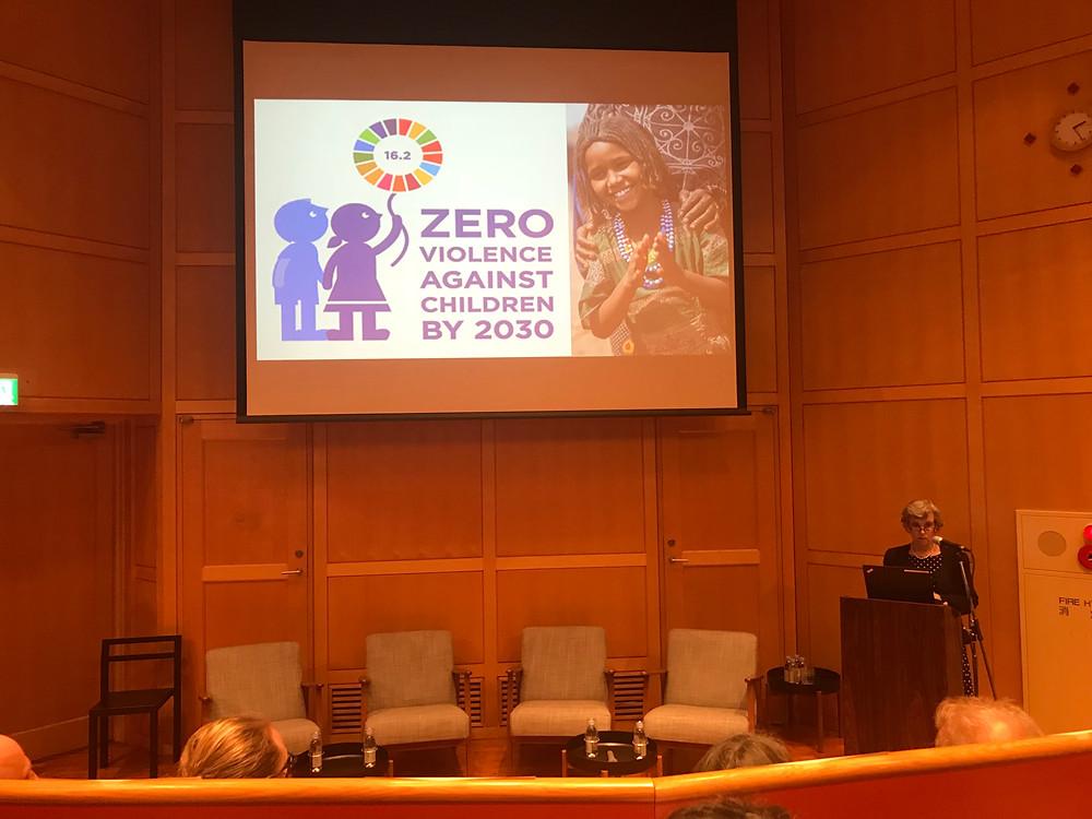 マルタ・サントス・パイス氏 (子どもへの暴力に関する国連事務総長特別代表)