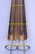 Tube quartz filament