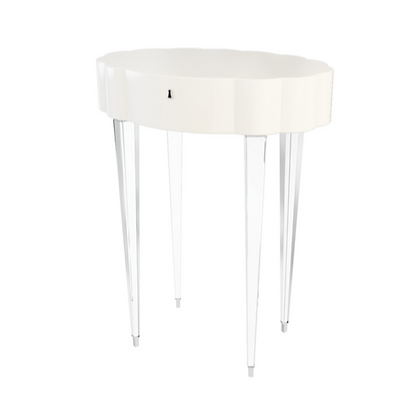 CADENCE ACRYLIC SIDE TABLE