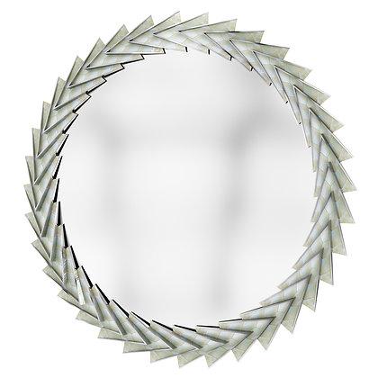 AURORA MIRROR (Polished Nickel Finish)