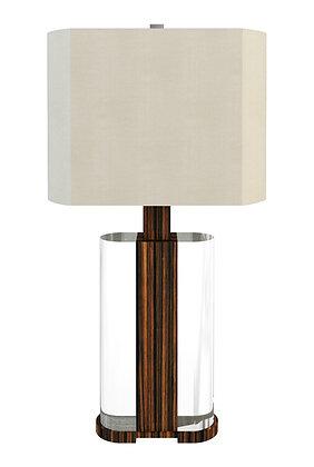 MELROSE LAMP MACASSAR EBONY