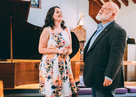 Masterclasse avec Richard Margison, Highlands Opera Studio, 2019 Source: Brenden Friesen