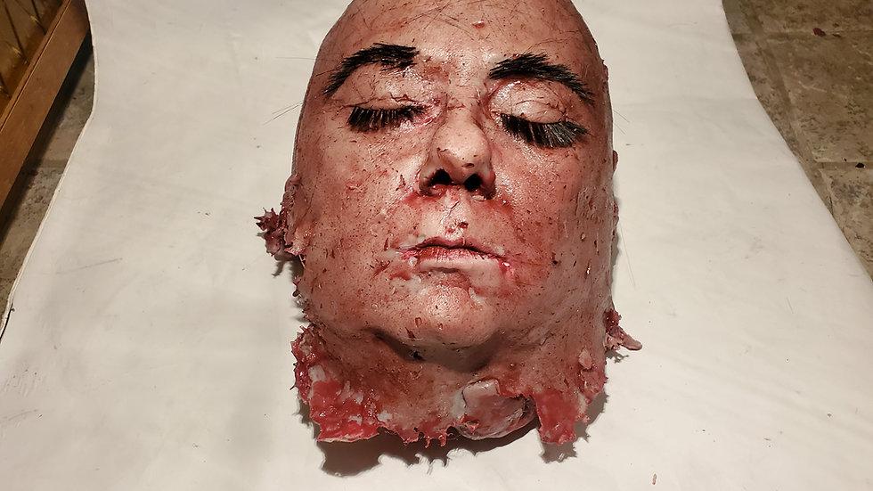 movie prop  bald head